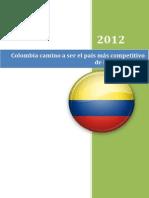 Colombia a Ser El País Mas Competitivo de Latinoamerica