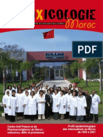 Revue Toxicologie Maroc n1 2009