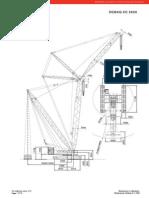 05 CC 2600 Demag 500 Ton Crawler Crane
