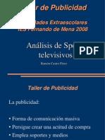 Análisis de Spots televisivos