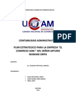Plan Estrategico Conta Administrativa
