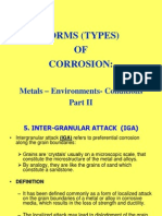 7 Forms of Corrosion II