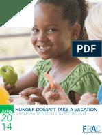 2014 Summer Nutrition Report