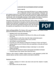 Volunteer Role Description - School Project