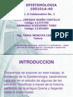 Desarrollo de la Epistemología