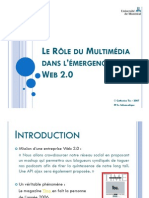 Multimedia Web 2 0