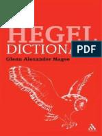Hegel Diccionario Libre