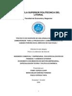 PROYECTO DE INVERSI+ôN DE UNA GRANJA EN EL SECTOR SAMBOROND+(1)