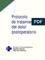 Protocolo de Dolor Postqx