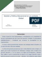 Gestion y Politica Educacional