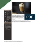 Caffe Latte Vienna de Baunilha