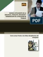 Material Curso Manejo Inteligente de La Renuncia, Finiquito y Terminacion Laboral
