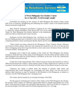 june04.2014 b.docCreation of West Philippine Sea Studies Center for claims to Spratlys, Scarborough sought