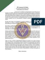 Consejo de Solaz - Jul87 - Lila Barca de Fernandez, S.R.C.