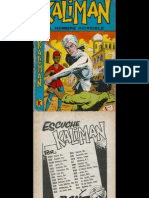 Kaliman MR Profanadores de Tumbas No. 002 Serie Original
