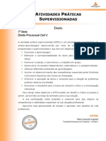 ATPS Processo Civil V