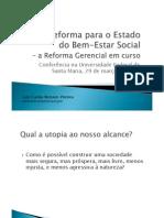 716 Estado Social Reforma Gerencial