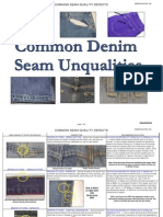 Common Seam Quality Defects