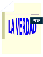Microsoft PowerPoint - LA VERDAD