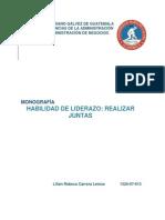 Ejemplo de Monografia, Licda. Rebeca Carrera