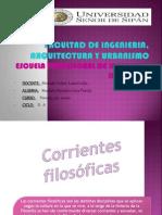 Corrientes Filisoficas Bien