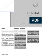 Manual Conductor Sentra 2011