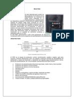 Informe Relé Transformador f650