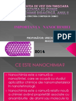 Importanta nanochimiei