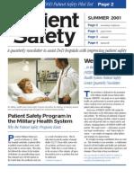 PSC Newsletter 2001 Summer