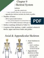 9 Skeletal System