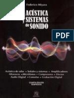 Miyara, Federico - Acústica y Sistemas de Sonido. [COMPLETO]
