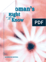 A Womans Right to Know Booklet TDHHS