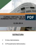 El Acto Administrativo y El Procedimiento Administrativo
