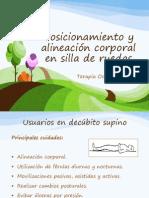 Posicionamiento y Alineación Corporal en Silla de Ruedas