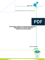 Productividad Cientifica UTEM 2008-1994 Omarambi_Corregida