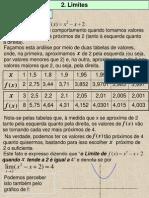 Aula 9-Limites-Cálculo I-Definição, Significado Grafico, Limites Laterais Epropriedades