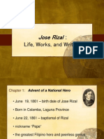 Life, Works and Writings of Dr. Rizal (Chapter 1)