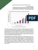 Crescimento da população e dos domicílios e seus impactos ambientais no Brasil