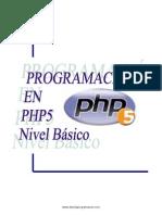 Programacion PHP 5 Basico