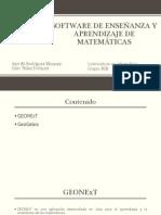 Software de Enseñanza y Aprendizaje de Matematicas