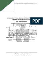 Integración Petrel – Ocean Herramienta de Avanzada
