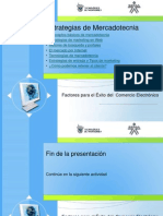 Factores Exito e Commerce-Unidad 1 Tema 1-Estrategias de Comercializacion