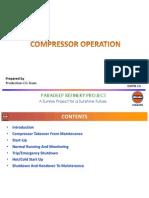 Compressors Operation