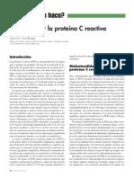 2014 Cómo Utilizar La Proteína C Reactiva