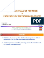 Fundamentals of Refining Products and properties