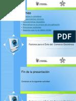 Factores Exito e Commerce-Unidad 4 Tema 1-Tiendas Electronicas