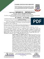 BÁSICO - Mód I - 4ª AULA - O Verbo.pdf
