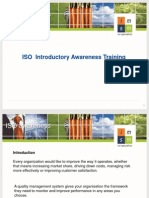 ISO Introductory Awareness Training