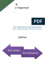 Bab 2. Pengertian Dan Unsur Organisasi(1)