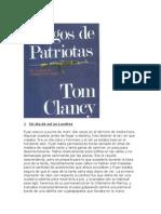 CLANCY TOM - Juegos de Patriotas